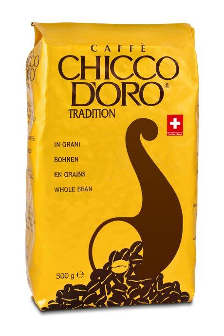 Chicco d'Oro Tradition 500g - ganze Bohnen