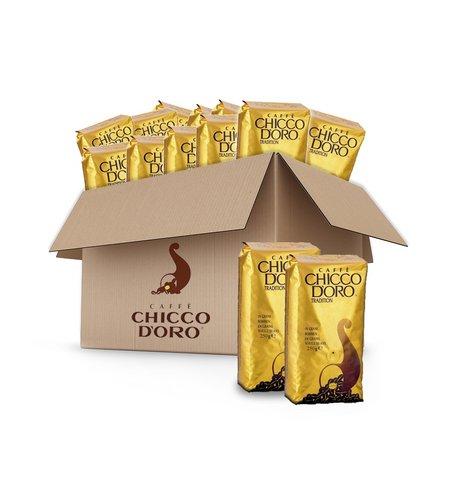 Chicco d'Oro Tradition Vorteilskarton 20x250g (5kg) - ganze Bohnen