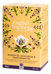 ETS Bio Envelopes Weißer Tee Kokos Passionsfrucht