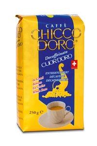 Chicco d'Oro Cuor d'Oro entkoffiniert 250g Bohnen